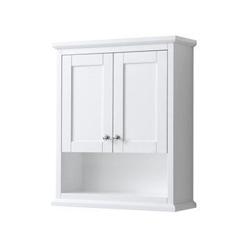 Avery Over-Toilet Wall Cabinet by Wyndham Collection - White