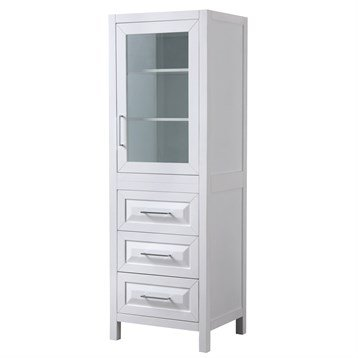 Daria Linen Tower by Wyndham Collection - White