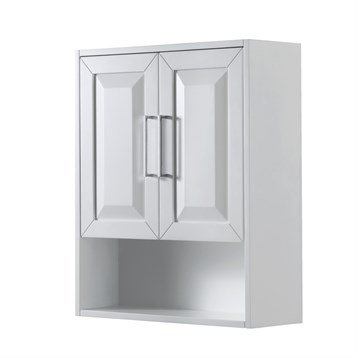 Daria Over-Toilet Wall Cabinet by Wyndham Collection - White