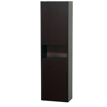 Diana Wall Cabinet by Wyndham Collection - Espresso