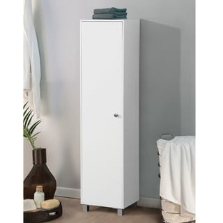 Home Source Aaronsburg Kitchen Storage Cabinet (White)