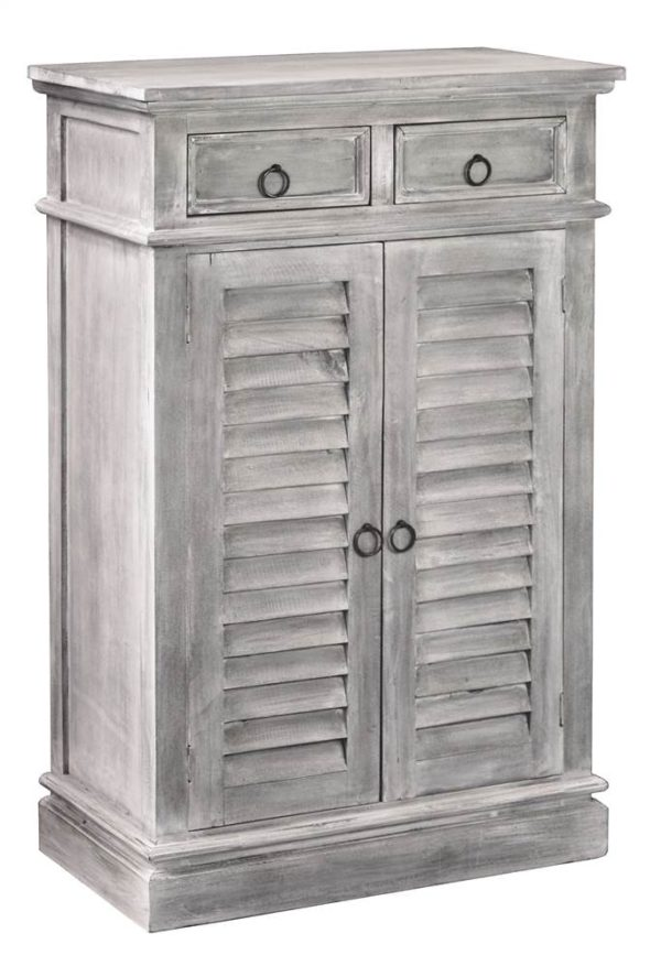 Kitchen and Dining Cabinet in Light Gray