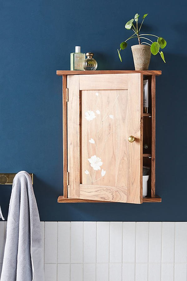 Olivia Bath Cabinet By Anthropologie in Beige Size ALL
