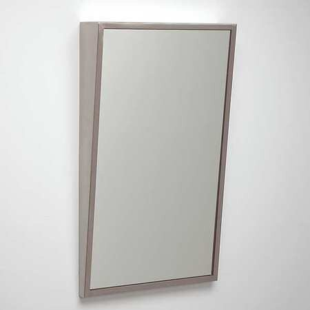 "SEE ALL INDUSTRIES FTILT1830G 30 ""H x 18 ""W, Fixed Tilt, Framed Mirror ADA"