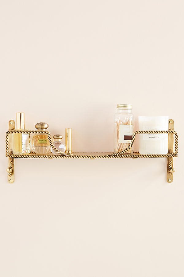 Francis Bathroom Shelf By Anthropologie in Brown Size S