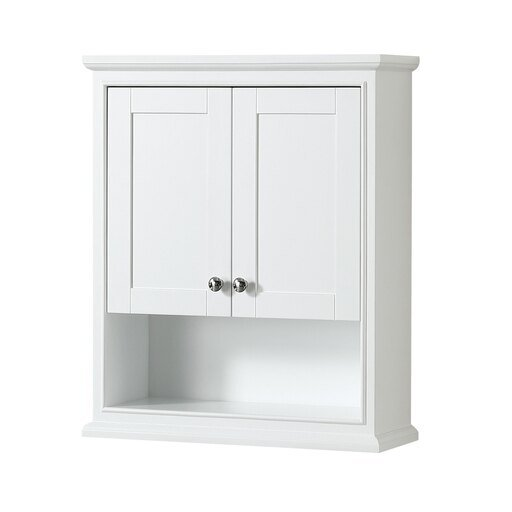 Bathroom Wall-Mounted Storage Cabinet in White