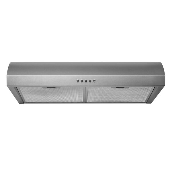 """Hauslane Chef Series 30"""" B017 Convertible Under Cabinet Range Hood 3-Way Venting, 250 CFM, Perfect for Ductless Kitchen - 30 (30)"""