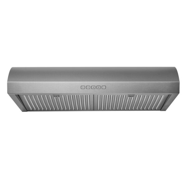 Hauslane Chef Series 30-inch B018 Convertible Under Cabinet Range Hood, 3-Way Venting, 250 CFM, Perfect for Ductless Kitchen (30)