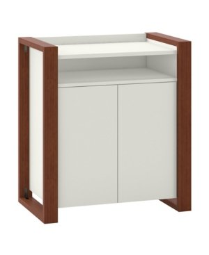Kathy Ireland Home by Bush Furniture Voss Bathroom Storage Cabinet