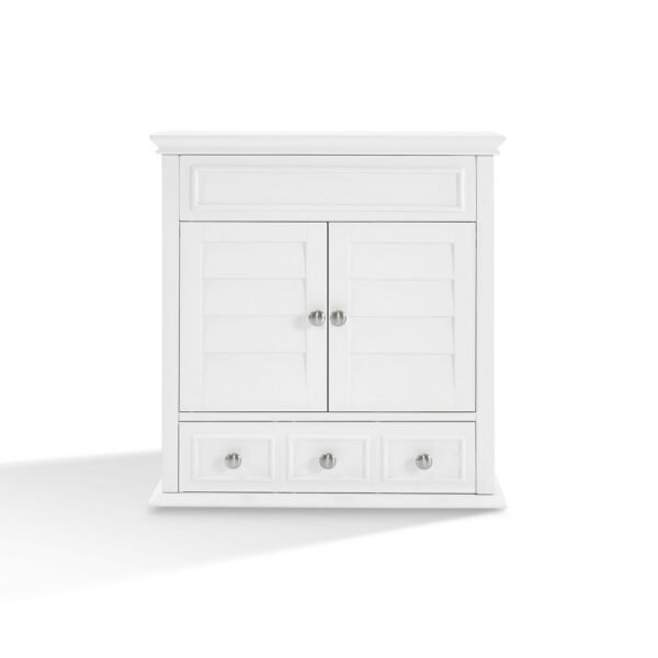 Lydia Wall Cabinet in White - Crosley CF7004-WH