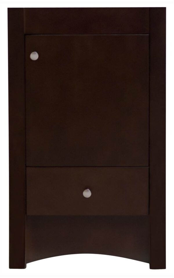 31 in. Transitional Vanity Base in Distressed Antique Walnut